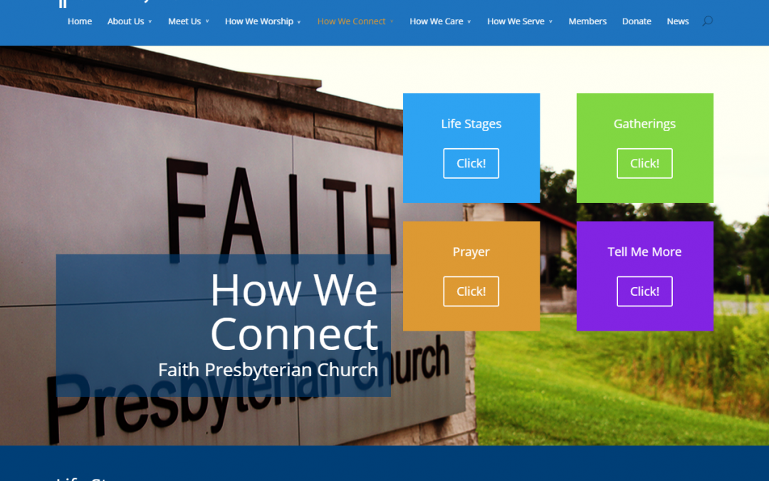 How We Connect   Faith Presbyterian Church   Indianapolis